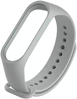 Xiaomi Mi Band 3 Rubber Wristband Strap - Grey