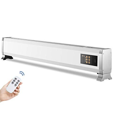 Elektrische voetlijstverwarming voor convectoren, afstandsbediening, elektrische plint, 3 warmtestanden, anti-vorst, huishouden, koolstofvezelverwarming, convectoren