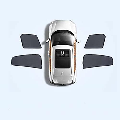 BNMI Para Suzuki Liana A6 ventana lateral del coche, cortina magnética universal con protección solar UV (color: 4 piezas delanteras traseras)