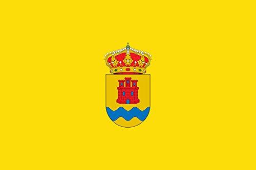 magFlags Bandera Large Municipio de Fuentidueña de Tajo Comunidad de Madrid | Bandera Paisaje | 1.35m² | 90x150cm