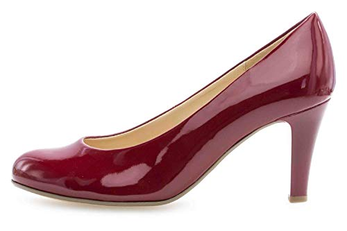 Gabor Shoes Damen Basic Pumps, Rot (Cherry (+Absatz) 75), 39 EU