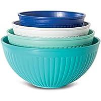 4-Piece Nordic Ware Prep & Serve Mixing Bowl Set