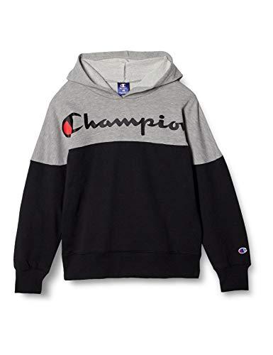 [チャンピオン] パーカー スクリプトロゴ プルオーバーフードスウェットシャツ ボーイズ スポーツ CK-TS104 ブラック 130