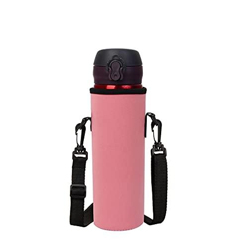 UOQCDQ水筒カバーペットボトルケースすいとうパッキンおしゃれ保温保冷んぶらー携帯式ボトルカバーポーチこども 女の子スポーツ魔法瓶子供バッグ ホルダーショルダーストラップ搭載