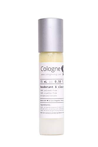 Cologne Dog All Natural Vegan Refreshing Pet Multipurpose Deodorant & Cleanser for Grooming | Pet Odor Elminator Spray and Cleans Dirt (Cedarwood + Sage) 15ML