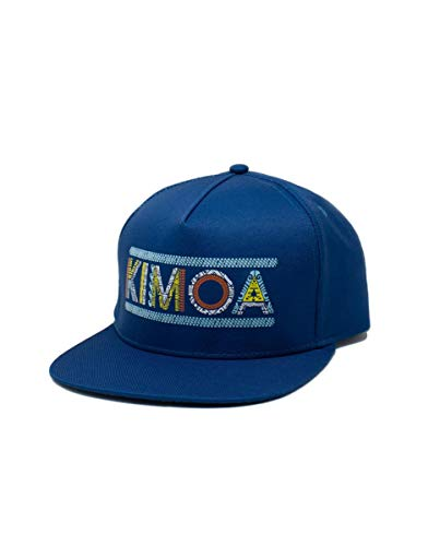 Kimoa - Plana Gorra de béisbol, Azul, Estándar Unisex...