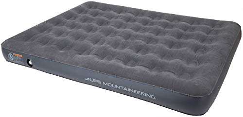 ALPS Mountaineering Harmony Air Bed, Queen, Charcoal