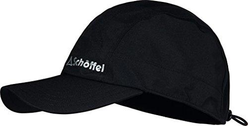 Schöffel Winter Rain Cap1 Casquette Anti-Pluie Homme, Noir, FR : M (Taille Fabricant : M)