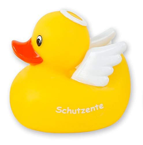 MIK Funshopping Badeente Quietscheente Badewannenspielzeug (Ente Schutzengel)
