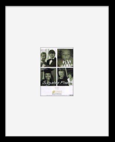 "Timeless Frames 78317 Anna Signature Frame, Black, 16"" x 20"""