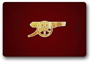 Custom Arsenal FC The Gunners Machine Washable Decorative Doormat Shower/Floor/Bathroom Indoor/Outdoor Door Mat Decor Non-...