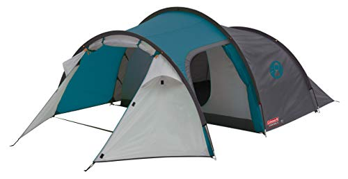 Coleman Cortes 3 Tent, 3 Man Tent, 1 Bedroom Hiking Tent, Absolutely Waterproof Lightweight Camping...
