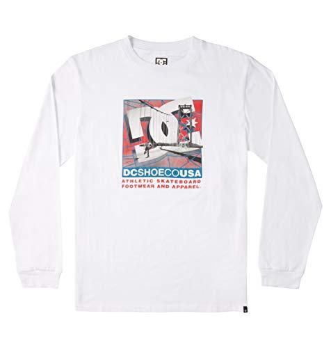 DC Shoes Dini - Camiseta de Manga Larga - Hombre - M
