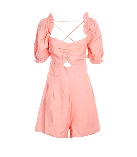 Glamorous Ladies Playsuit - Pink, Pink M