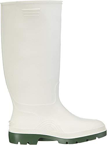 Dunlop Herren Stiefel, Weiß/Grün, 42 EU