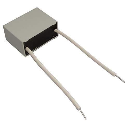 Aerzetix condensator voor werk C18760 voor motor 1μF ± 10% 31,5 x 24,5 x 15 mm 400 V 3000 h