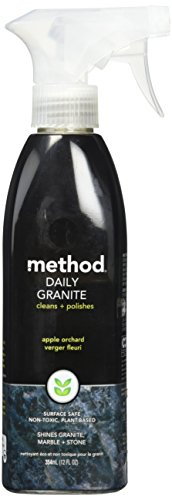 Method Daily Granite and Marble Cleaner, Apple Orchard, 12 Ounce