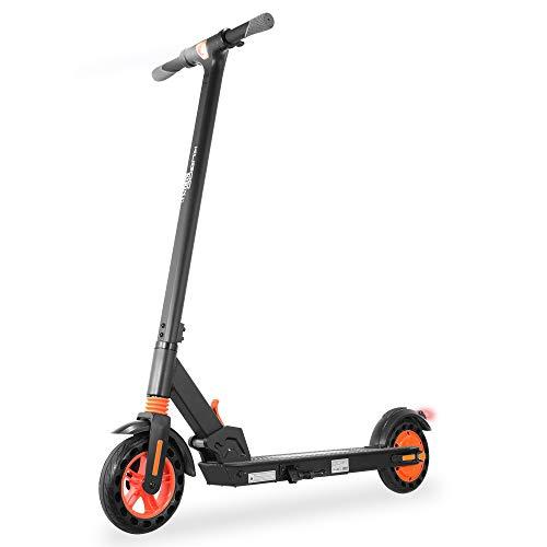 GoZheec Trottinette Électrique, Scooter Pliable Mixte pour Les Adultes et Les Enfants, Propulsion Arrière Scooters Ultraléger, Puissance de 350W, Vitesse de 30km/h