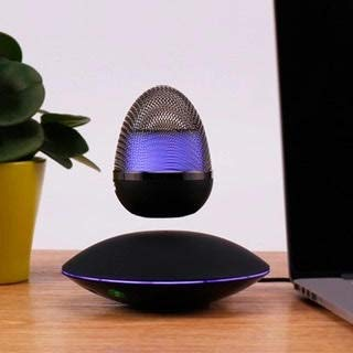 Modern Levitating Wireless Floating Bluetooth Speaker, Hands Free Calling, 360 Rotation, 3D Sound...