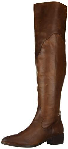 FRYE Women's RAY OTK Over The Knee Boot, Cognac, 5.5 M US