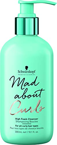 Schwarzkopf Professional Mad About Curls High Foam Cleanser - De Cabello Fino a Grueso (3A, 3B, 3C) - 300ml