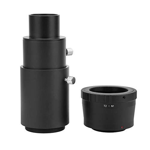Bigking Anillo Adaptador, Tubo de extensión telescópico de 1,25 Pulgadas T2 M42...