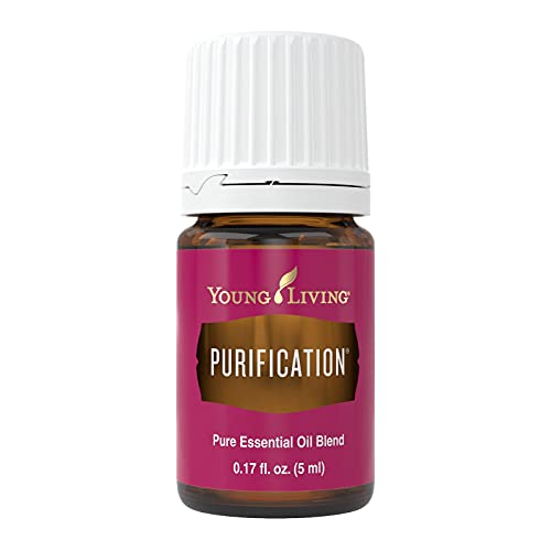 Young Living Purification Essential Oil Blend - formulated with 6 Essential Oils - 5 ml