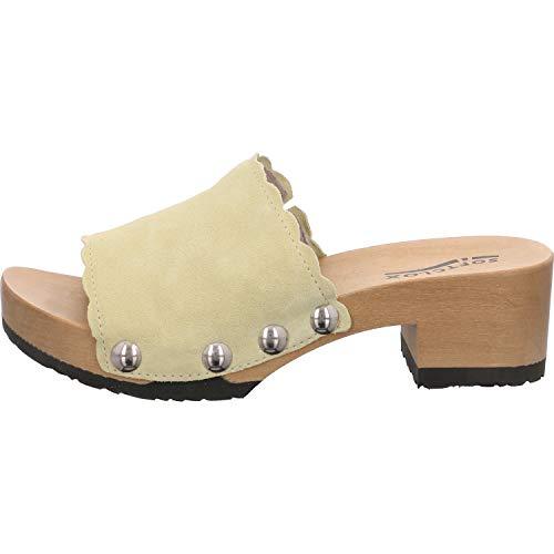 Softclox Damen Pantoletten Pabla S3420 S3420-22 PAPBLA gelb 656232