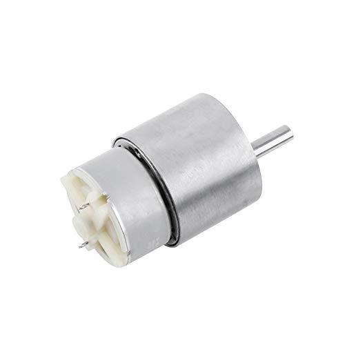 Motor de engranaje de reducción de velocidad de CC de 12 V...