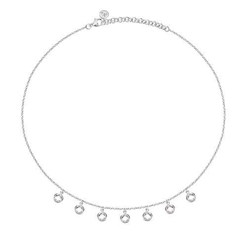 Morellato Collana da donna, Collezione Gipsy, in acciaio, cristalli - SAQG04