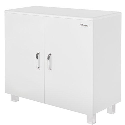 Commode MIAMI met 2 deuren in verschillende kleuren - 97x88x43cm kinderkamer commode wit