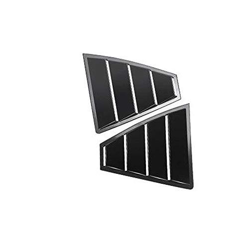 MPOQZI Car rear triangle window cover,Fit For Hyundai Elantra Avante 2016 2017 2018