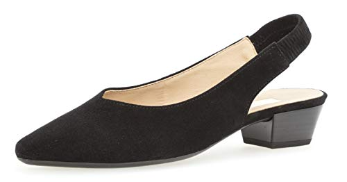 Gabor 25.630 Damen Pumps,Sling-Pumps, Frauen,Slingback Pumps,modisch,Fashion,schwarz,4.5 UK
