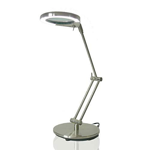 Lupenleuchte Tischlupenleuchte Nina Led daylight 4,5W 4' Lupe 10050