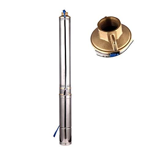SHYLIYU Pompa per Pozzi Profondi 220V 550W Sommergibile Pompa Acqua 11800L/H Pompa Sommerse Pozzo Profondità Fino a 32m Con 10m Cordone