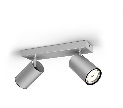 Philips myLiving Foco, iluminación interior, aluminio