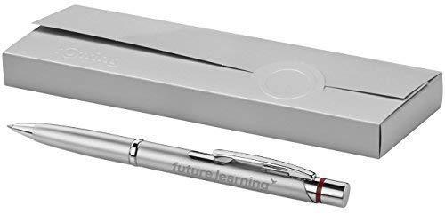 Grabado de rotring bolígrafo Modelo Madrid Plata con Grabado Láser grabado NUEVO