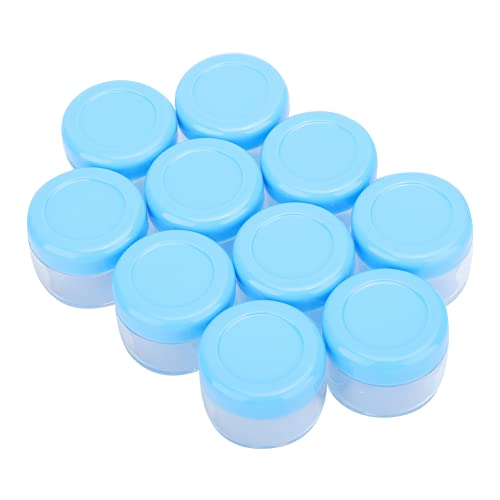 Caja de embalaje de crema de 20 piezas de plástico recargable vacío reutilizable para herramientas de maquillaje para loción y esencia de agua