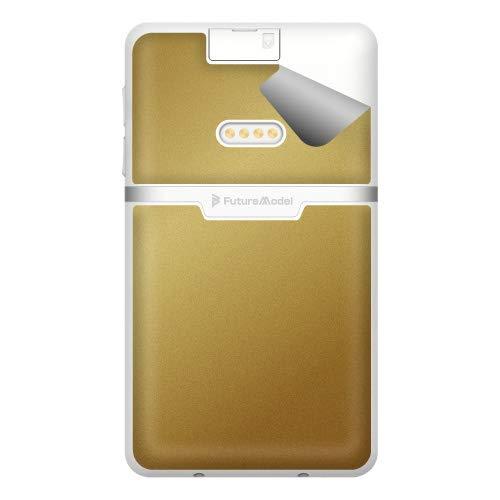 スキンシール NichePhone-S 4G 【グロス・メタリックゴールド】