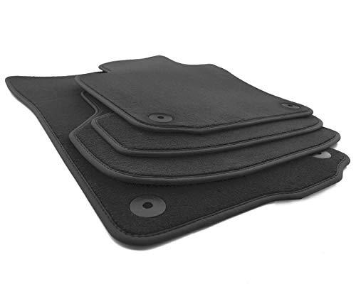 kh Teile Fußmatten passend für Golf 6 Cabrio Premium Velours Qualität Automatten 4-teilig