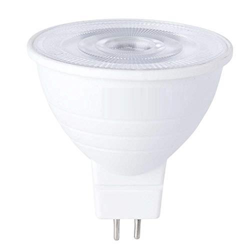 8PCS GU10 Bombilla LED MR16 Foco 220V 5W / 7W Ampolla Lámpara LED Spot Light Ahorro de energía-MR16 Transparente_5W (blanco cálido)