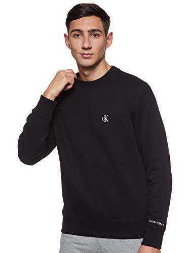 Calvin Klein Jeans Herren Essential Reg Cn Pullover, Ck Black, L