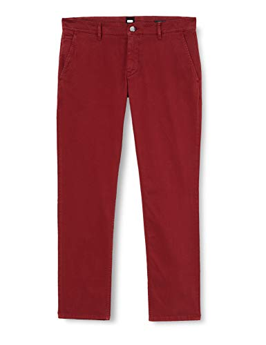BOSS Herren Schino-slim D Pants, Dark Red (605), 32W 32L EU