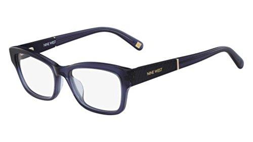 Eyeglasses NINE WEST NW 5128 434 Crystal Navy