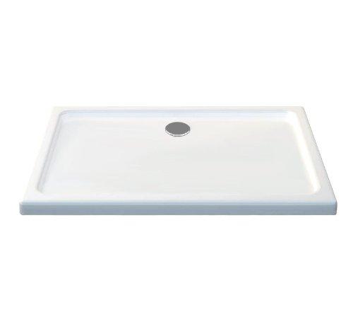 50 mm douchebak van sanitair-acryl 150 x 90 cm wit