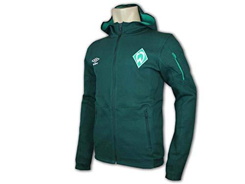 UMBRO Werder Bremen Kapuzenjacke SVW Sport Freizeit Hoodie Jacke SV Werder Top, Größe:S