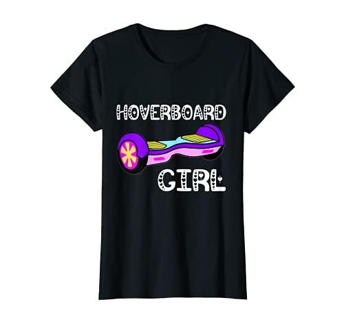Hoverboard Girl Hover Patinador eléctrico de equilibrio de la vespa Camiseta
