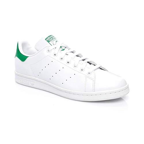 adidas PW HU Holi Stan Smith, Zapatillas de fitness para hombre, Blanco y verde., 44 EU