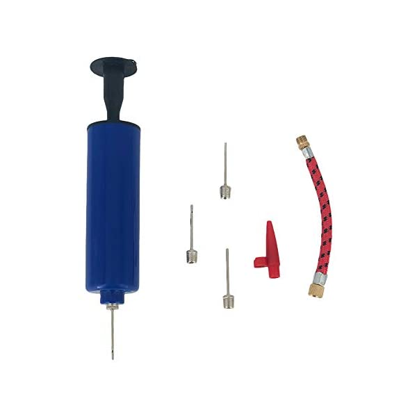 Generic Brands Portable, Fast-Inflatable Small Sports Ball Pump Inflation Pump Kit-with...