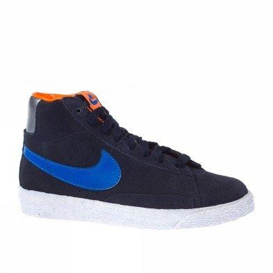 Nike Trainers Bambino 4-7 Blazer Mid Blauw [11 C US - 10,5 C UK]